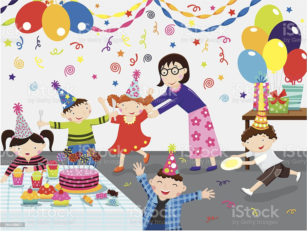 Birthday Party royalty-free stock vector art