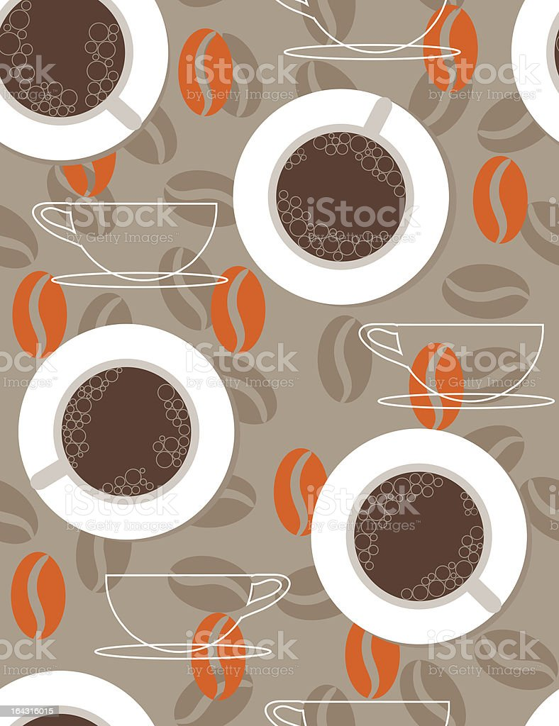 black coffee royalty-free stock vector art