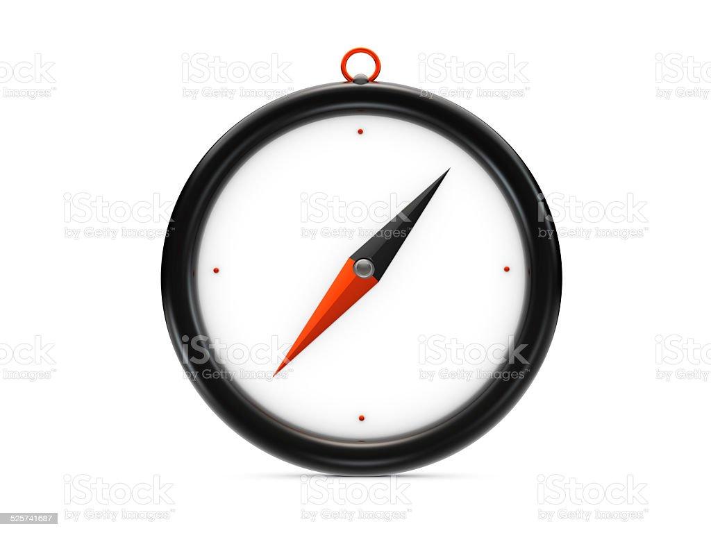 Preto compass vetor e ilustração royalty-free royalty-free