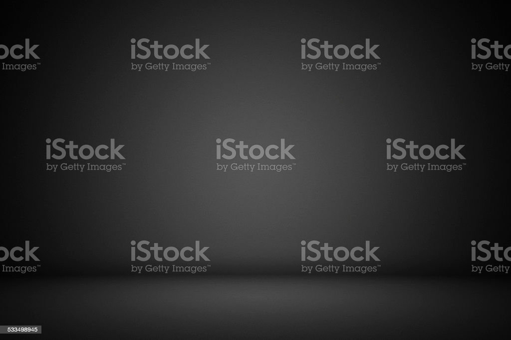 Black interior background vector art illustration