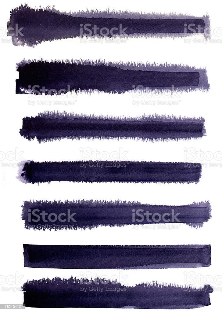 Black lines two royalty-free stock vector art