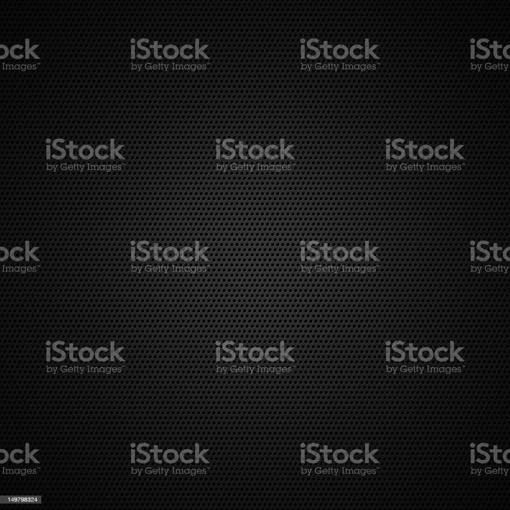 Black mesh background vector art illustration