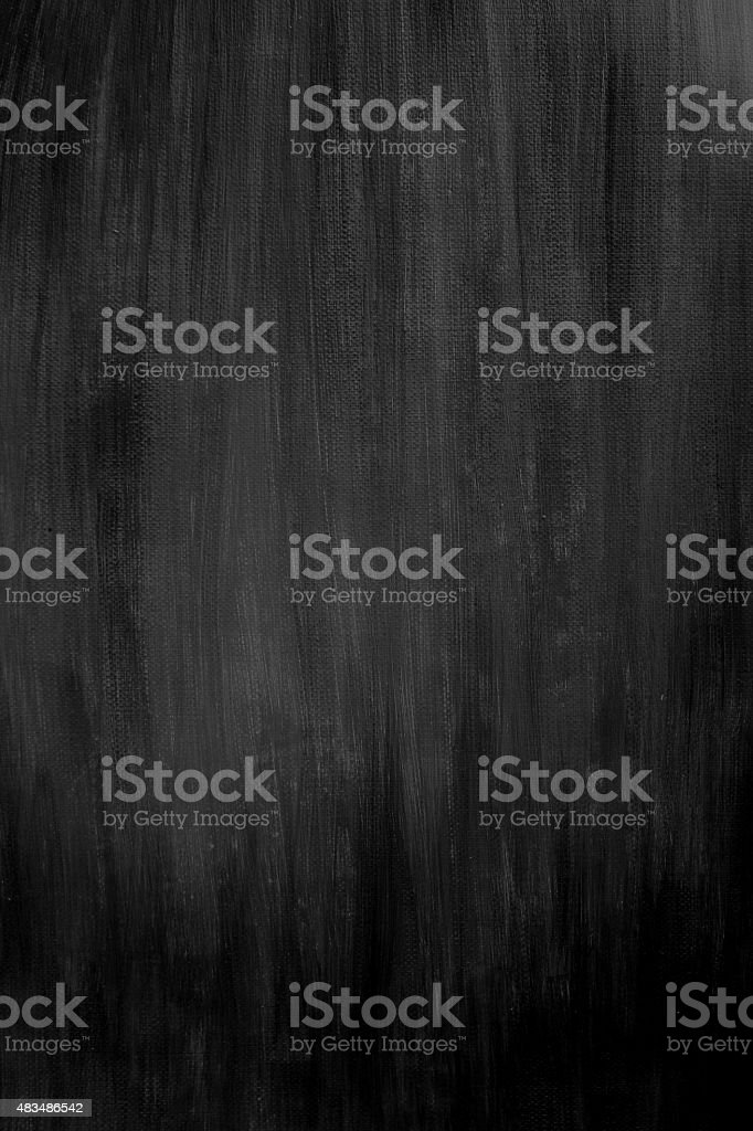Black Painted Background vector art illustration
