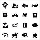 Black Park and Recreation Icons