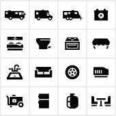 Black RV Systems Icons