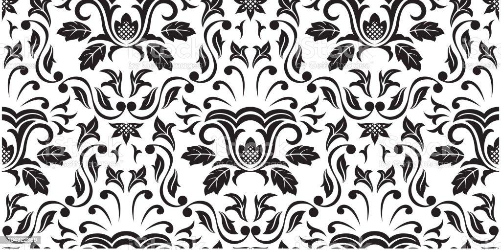 Black Seamless wallpaper royalty-free stock vector art
