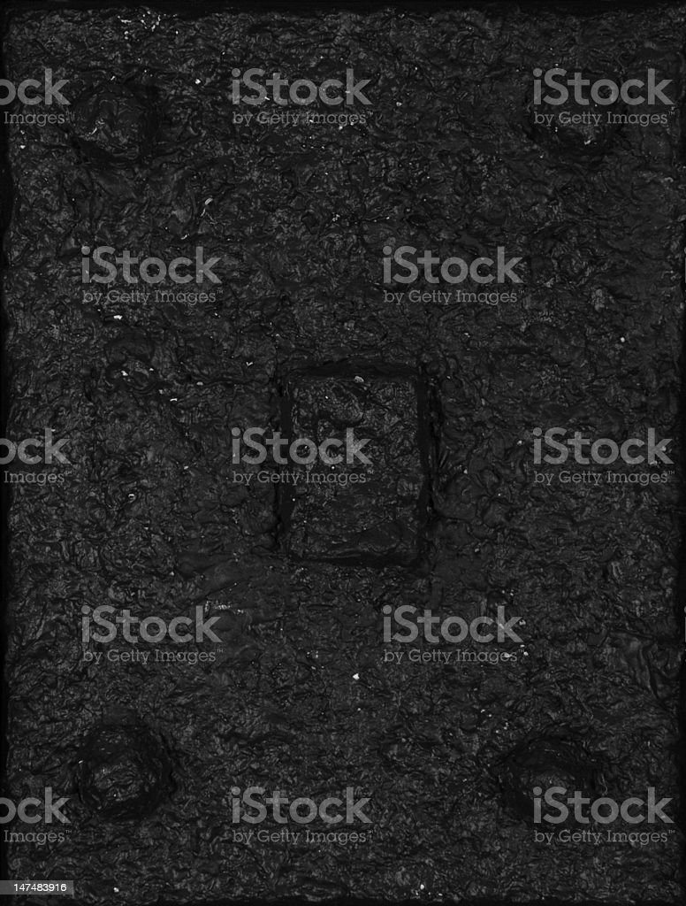 Black textured abstract painted art acrylic vector art illustration