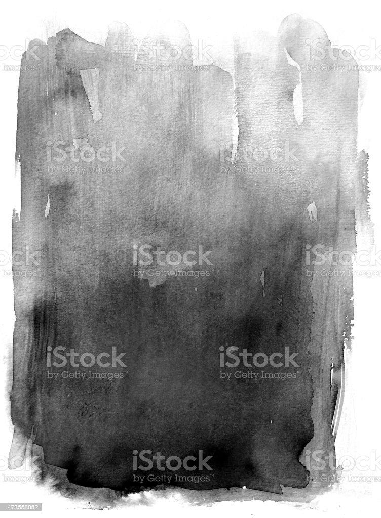 Black watercolor background vector art illustration