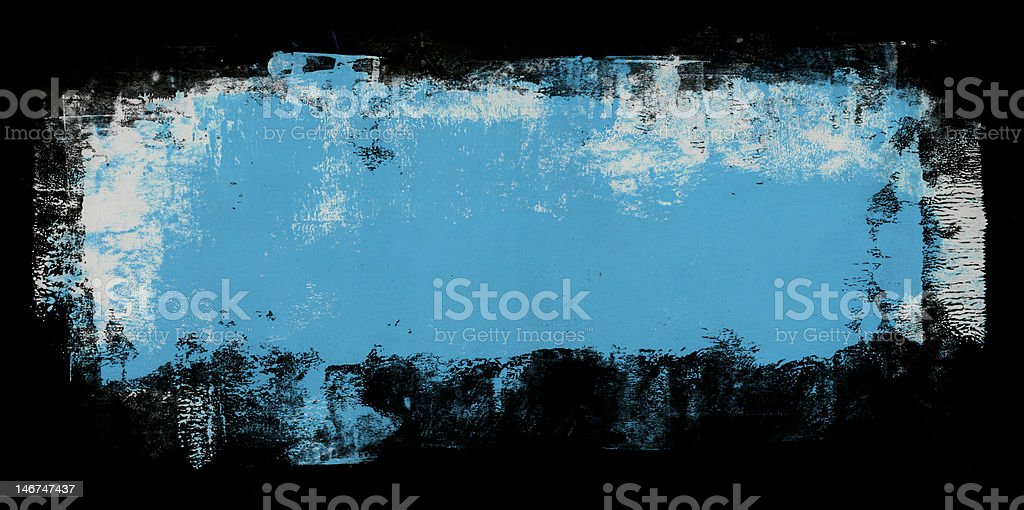 Black wide frame royalty-free stock vector art