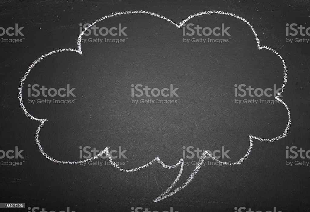 Blackboard royalty-free stock vector art