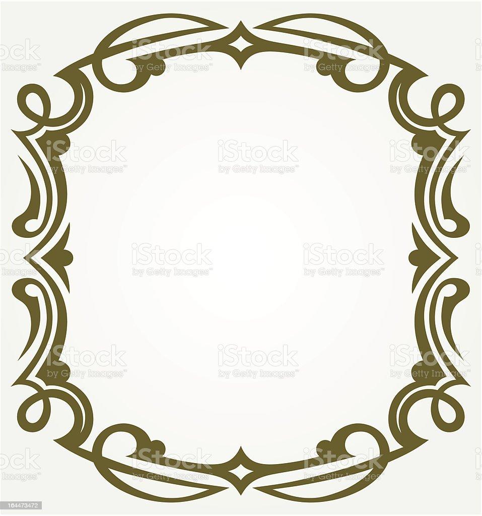Blank frames royalty-free stock vector art