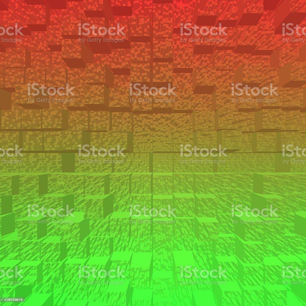 Blog 3D stockowa ilustracja wektorowa royalty-free
