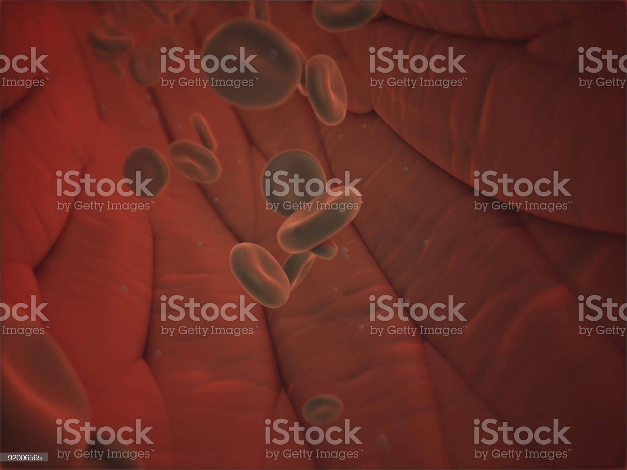 blood flow in vessel royalty-free stock vector art
