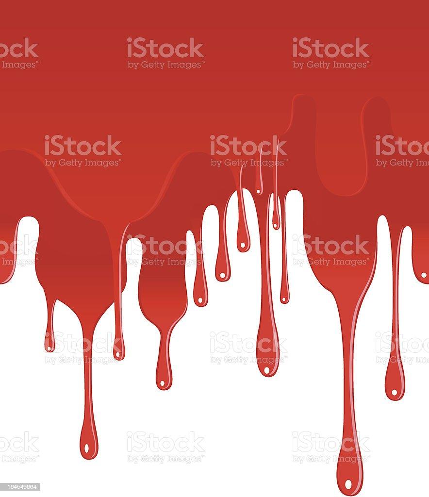 Blood vector art illustration
