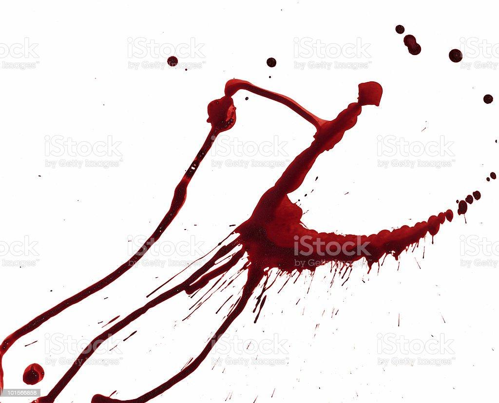 Blood Splatters royalty-free stock vector art