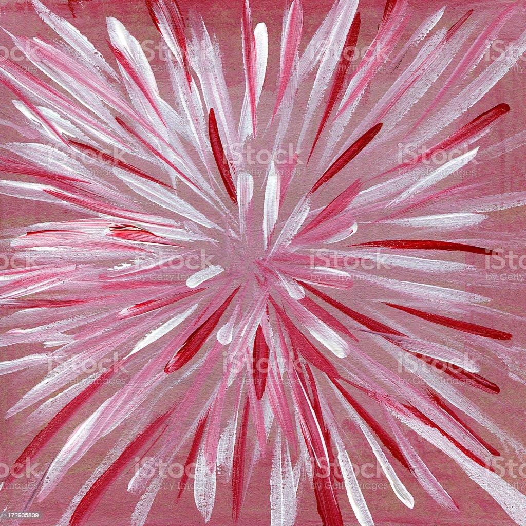 Blow in pink Lizenzfreies vektor illustration