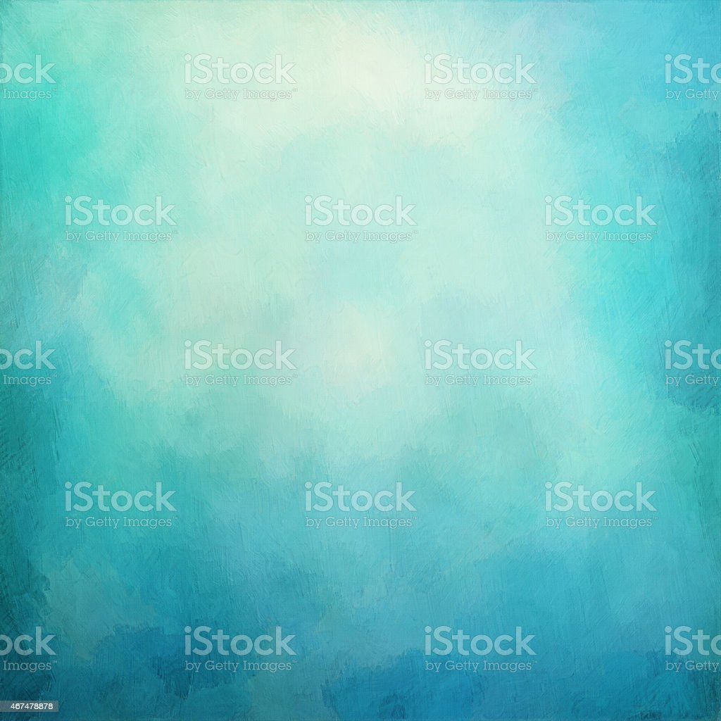 Blue abstract artistic background vector art illustration