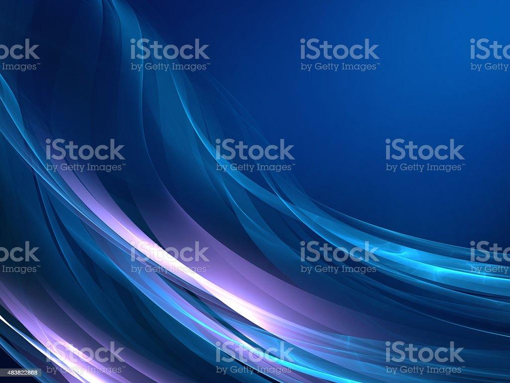 Blue Abstract Modern Background vector art illustration
