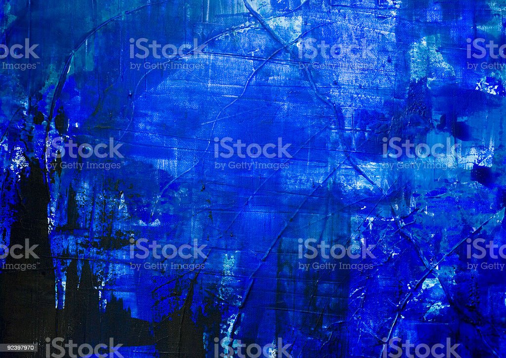 blue abstract painted background royalty-free stock vector art
