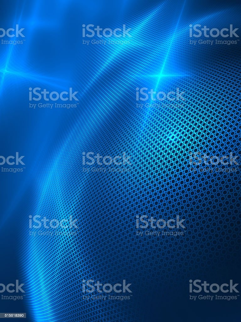 blue abstract techno background for modern design stock photo