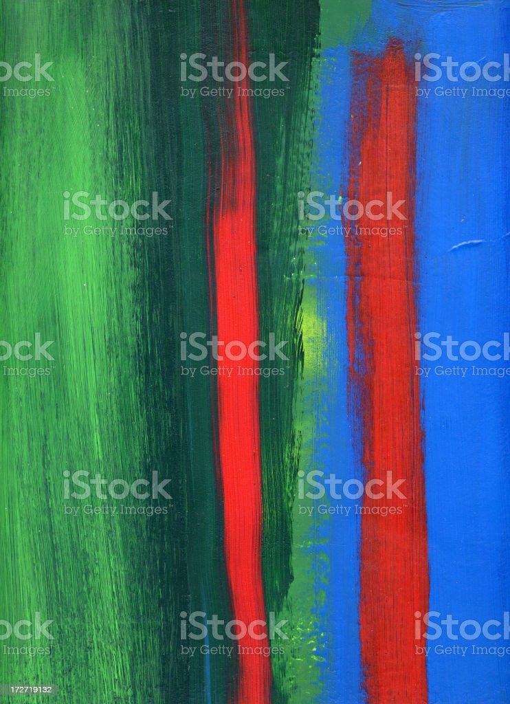 Blue and red. royalty-free stock vector art