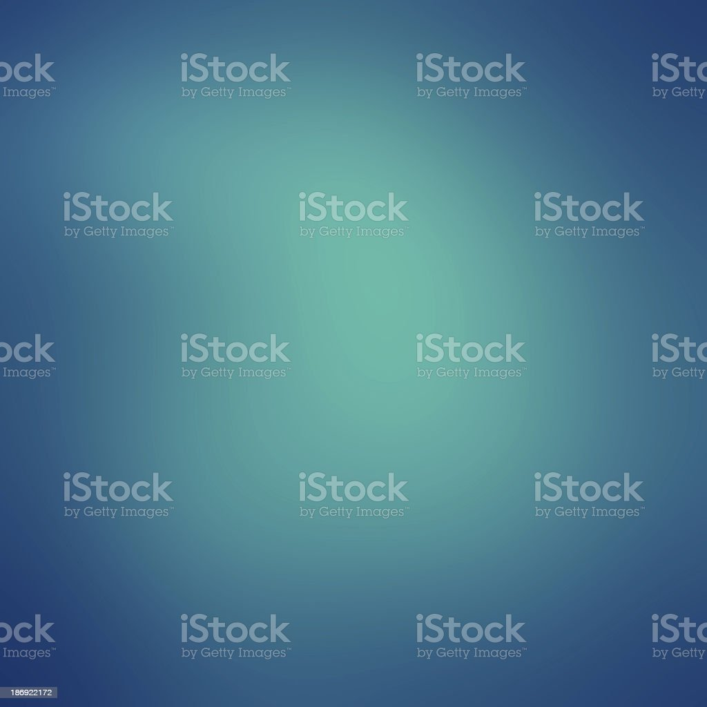 A blue background in different shades vector art illustration