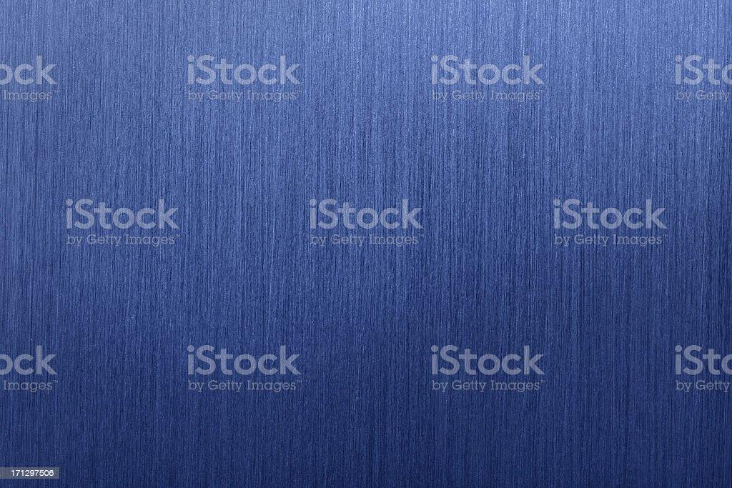Blue Brushed Metal Background vector art illustration