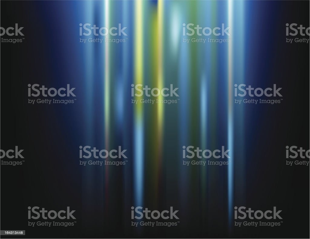 Blue Green Abstract royalty-free stock vector art