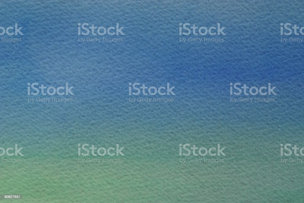 Blue & Green Watercolor Background vector art illustration