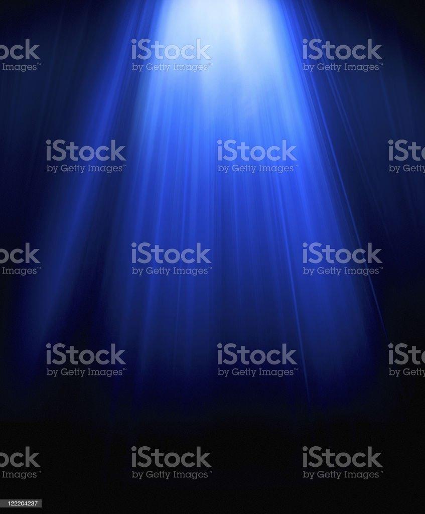 blue light vector art illustration