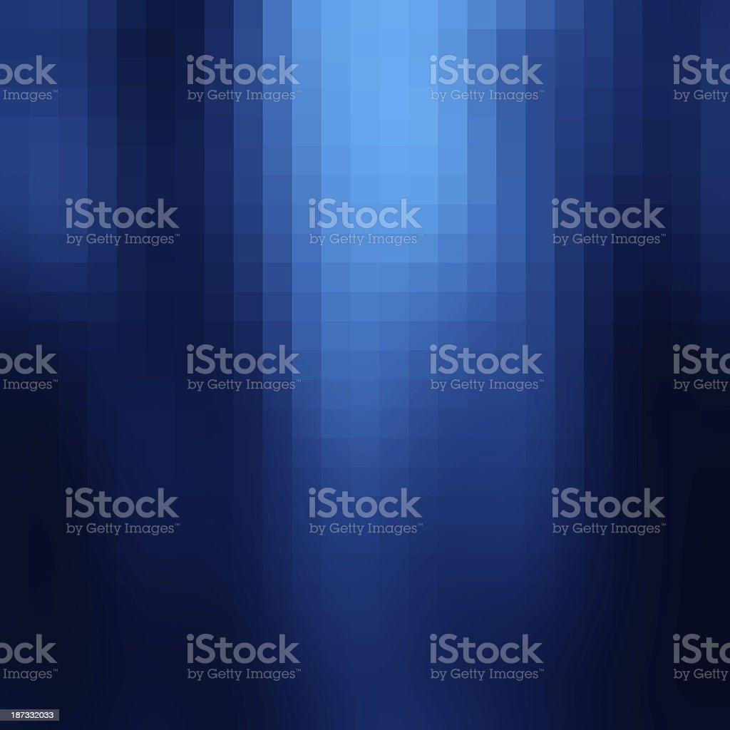 Blue mosaic background vector art illustration