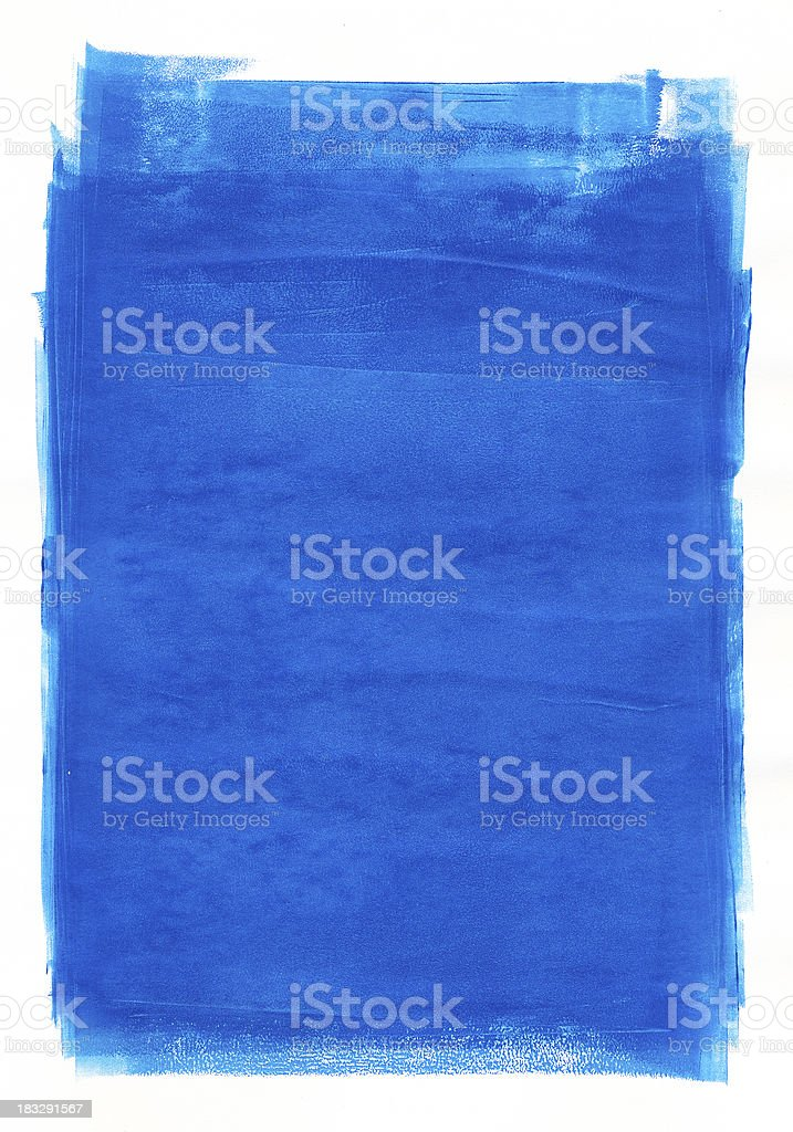 Blue paint royalty-free stock vector art