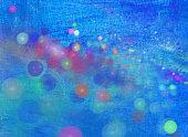 blue painted festive background