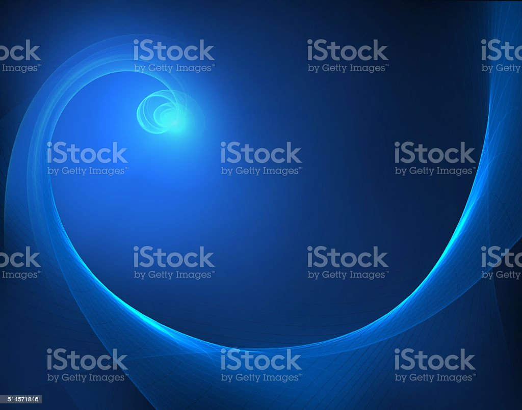 Blue Star vector art illustration