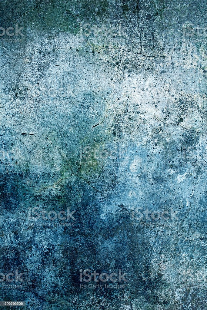 Blue wall grunge surface background vector art illustration