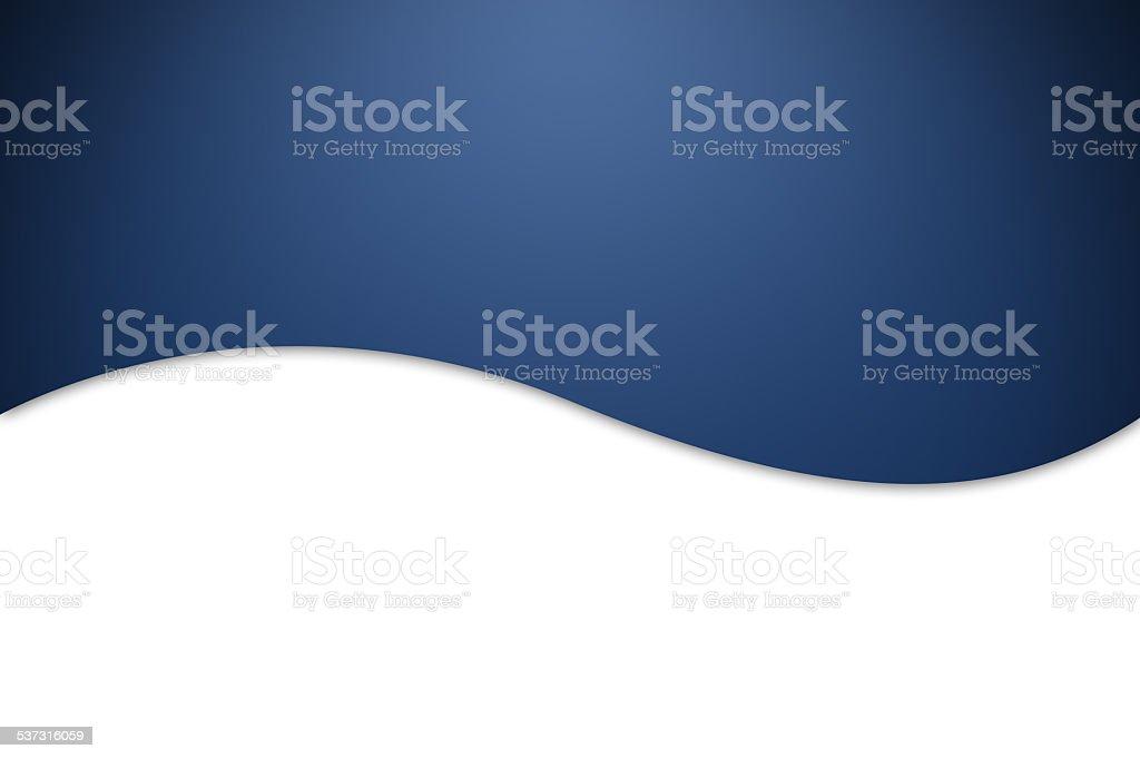 Blue wavy background. vector art illustration