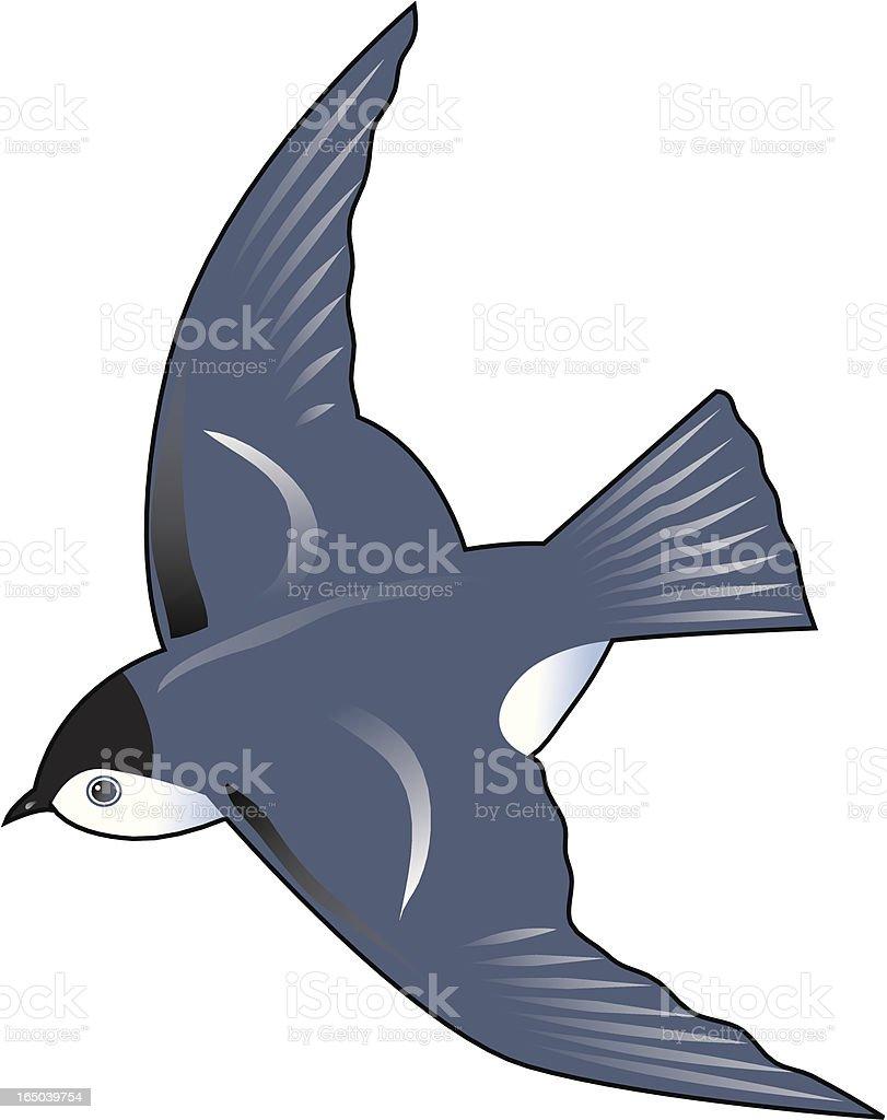 Bluebird royalty-free stock vector art