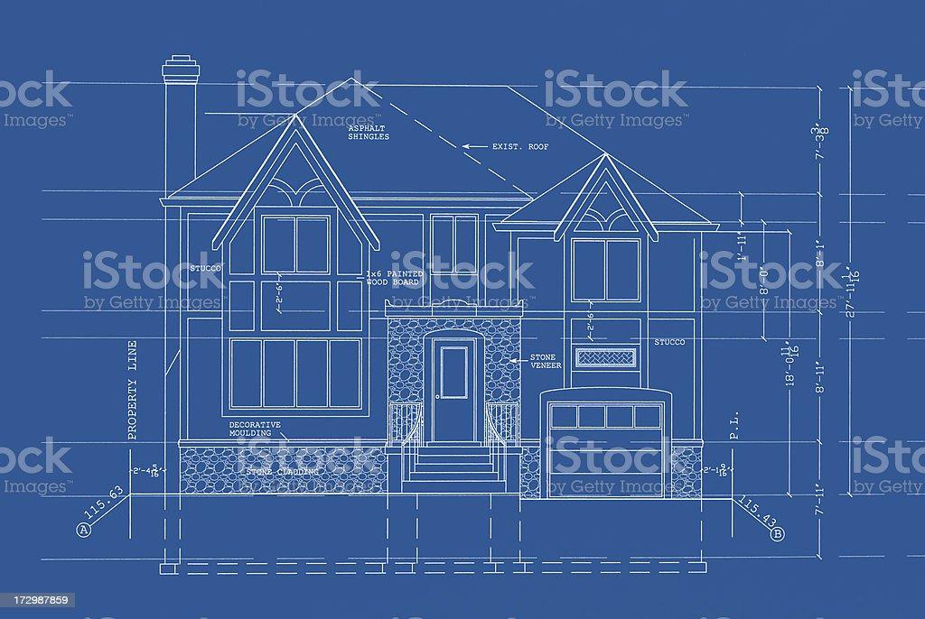 blueprints royalty-free stock vector art