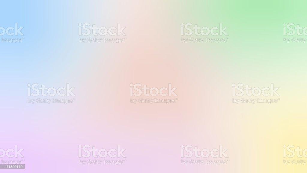 Blurred Pastel Background vector art illustration