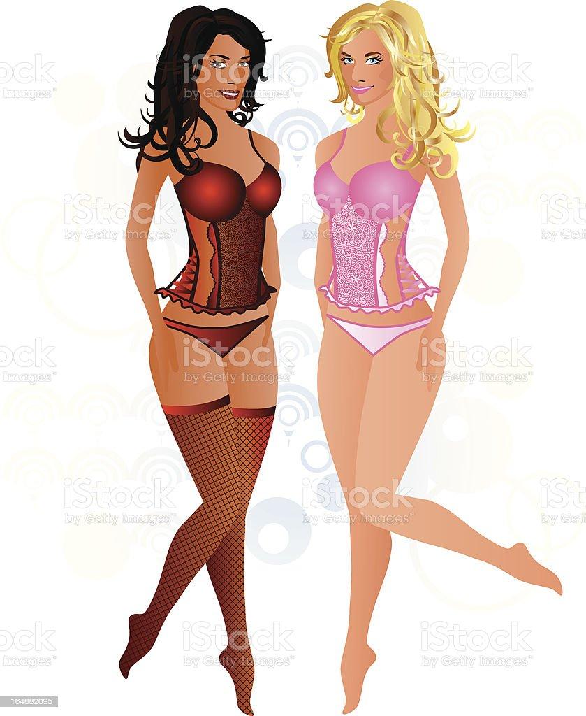 Body Sensational vector art illustration