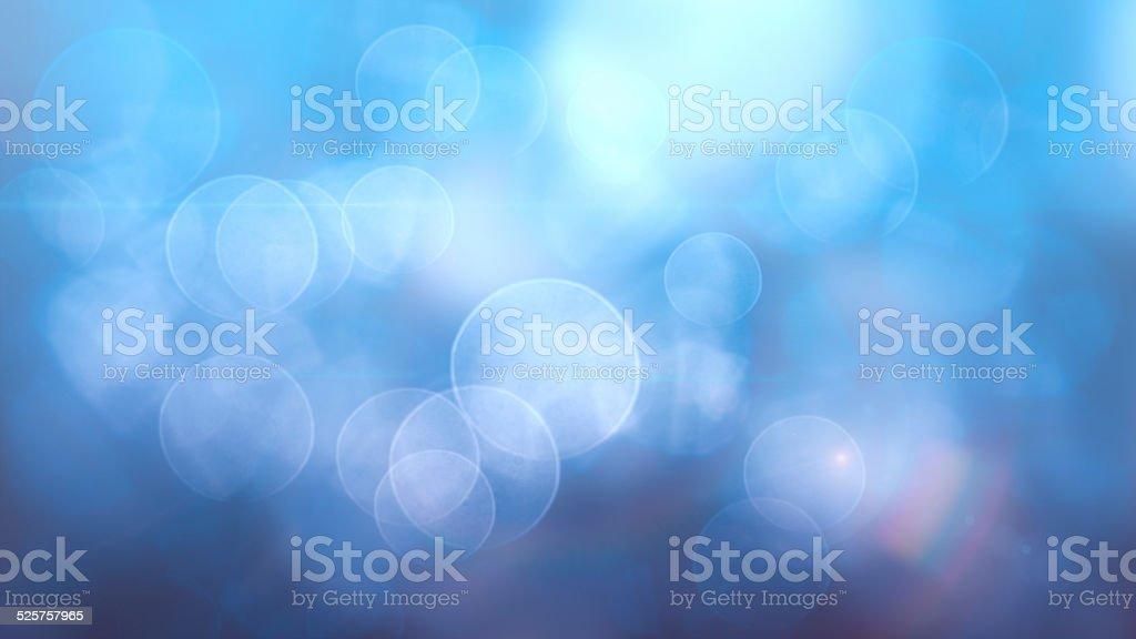 Bokeh de fundo azul-claro vetor e ilustração royalty-free royalty-free