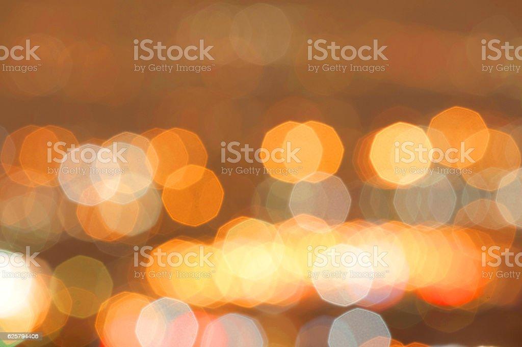 Bokeh lights vector art illustration