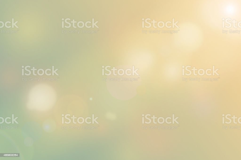 Bokeh sunlight abstract background. vector art illustration