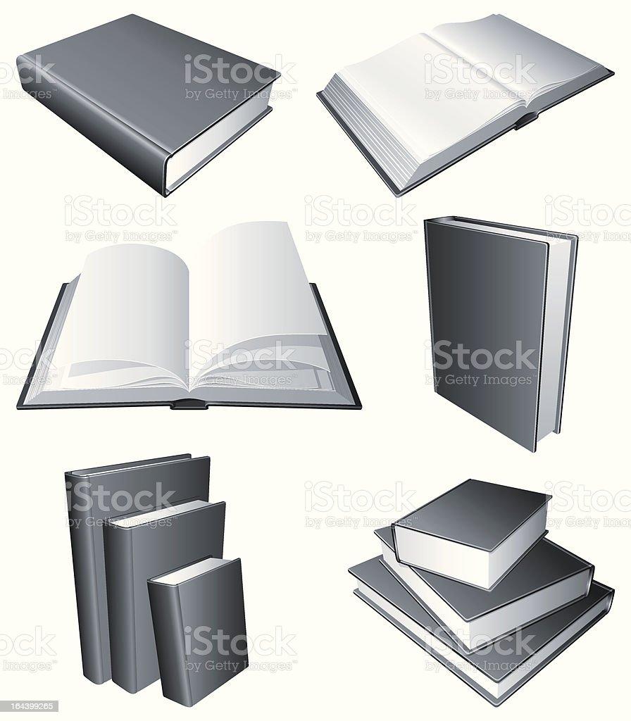 Books. royalty-free stock vector art