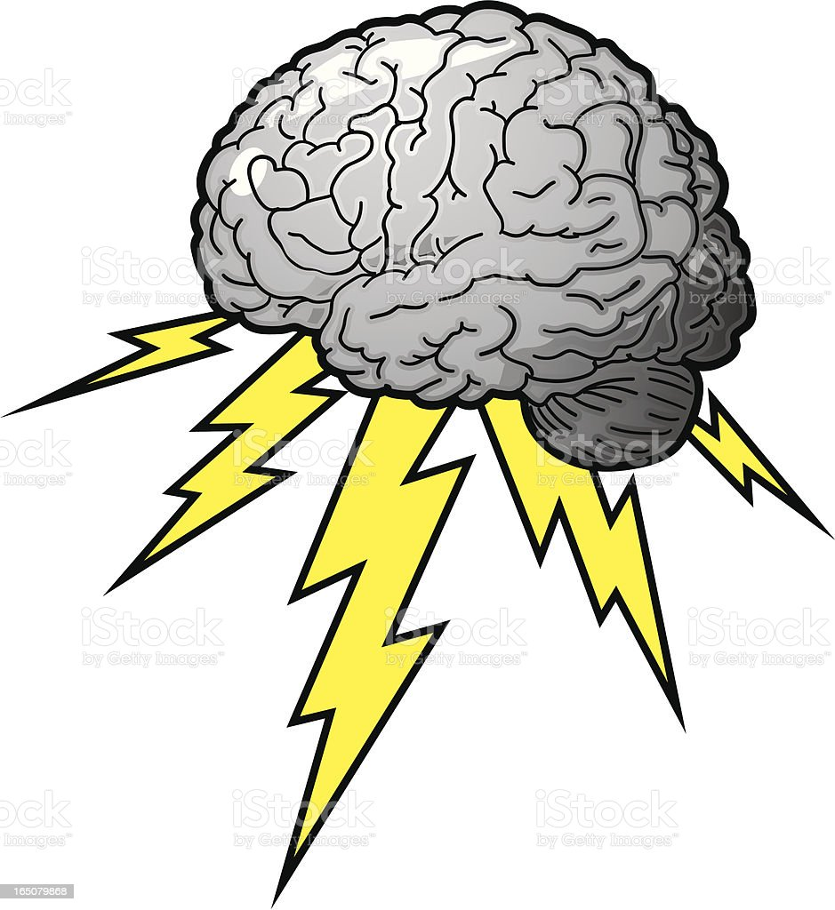 brain storm royalty-free stock vector art