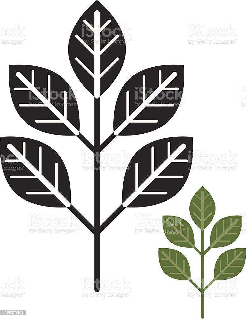 Branch royalty-free stock vector art