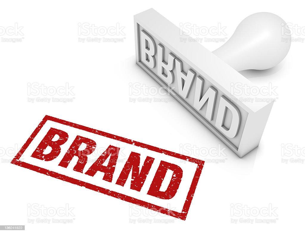 Brand royalty-free stock vector art
