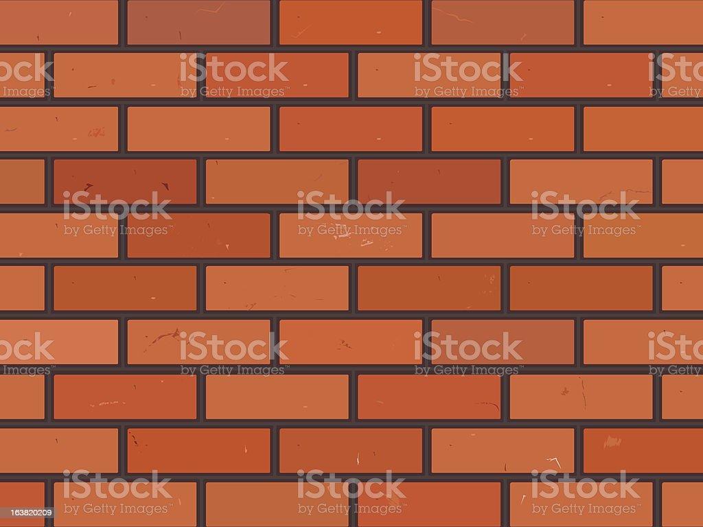 Bricks texture royalty-free stock vector art