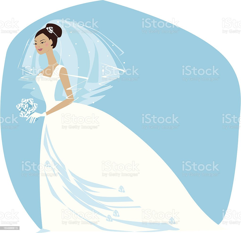 Bride is ready2 royalty-free stock vector art