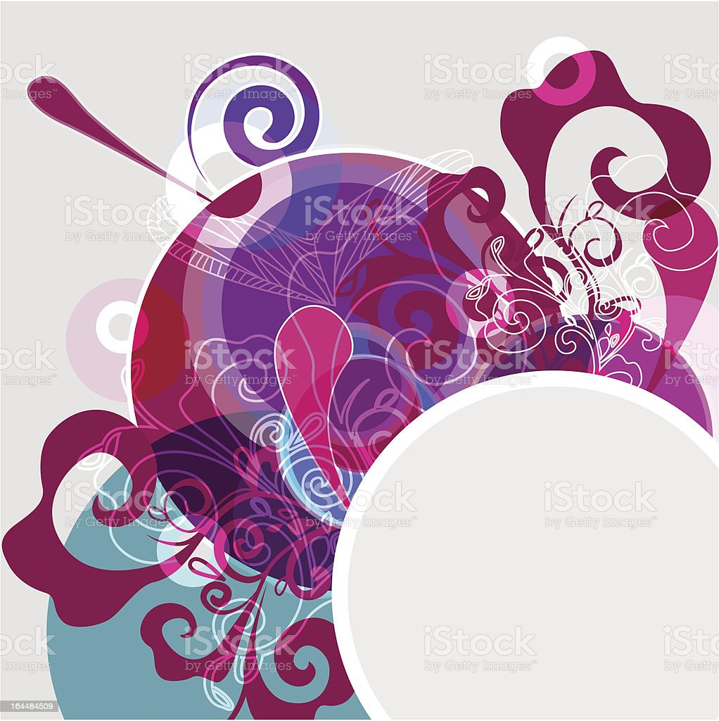 Bright design royalty-free stock vector art